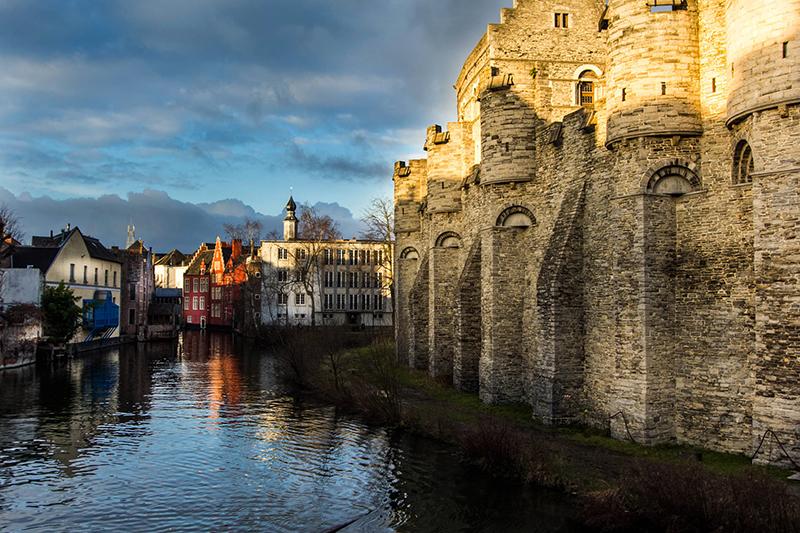 Le château des Comptes à Gand