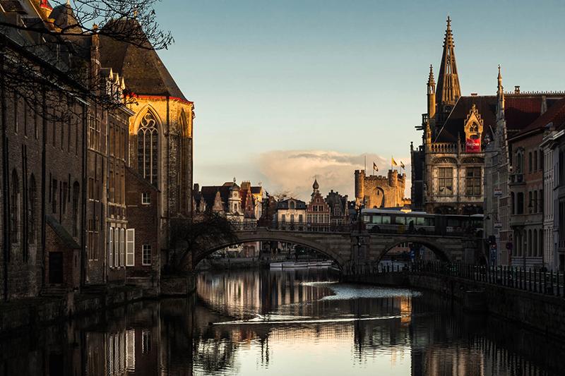 Gand dans les Flandres