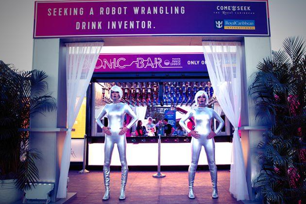 bar et ses robots barmans Bionic