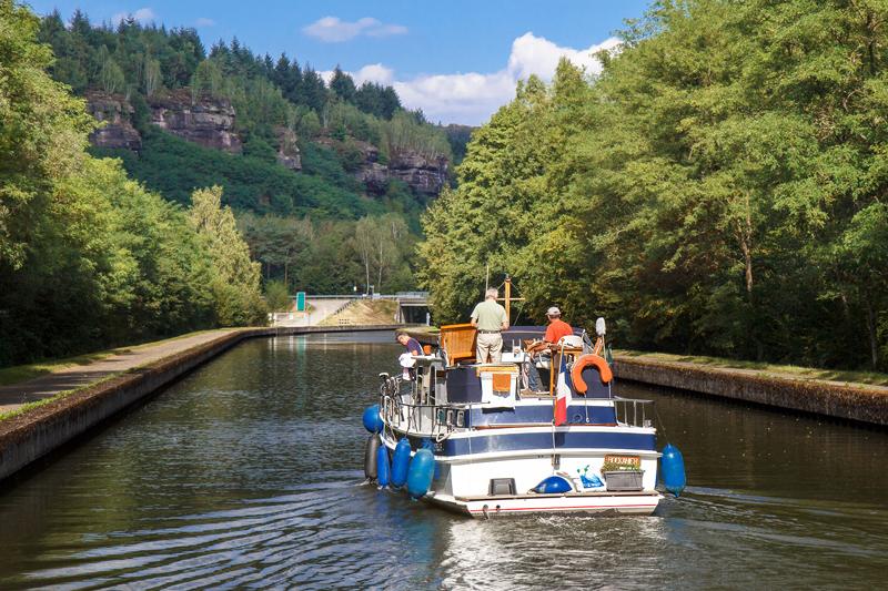 Navigation sur le canal