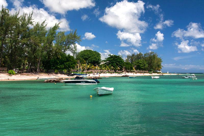 Les plages de l'île Maurice