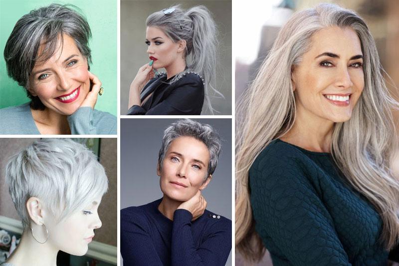 Photos coupe cheveux gris coiffures la mode de cette for Coupe femme cheveux blond gris