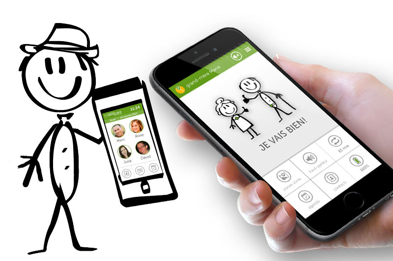 L'application famil.care transforme votre smartphone en outil d'assistance