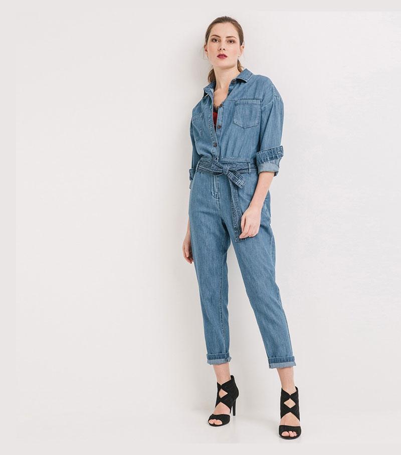 Les combinaisons pantalons aussi sont très tendances ce printemps