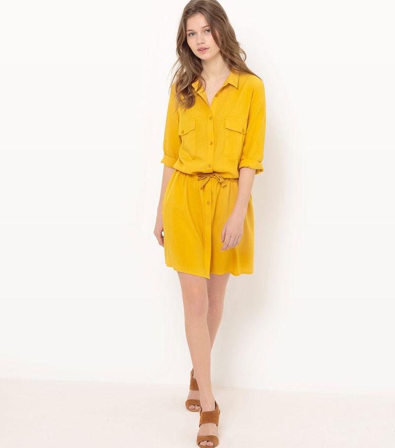 Le jaune est partout