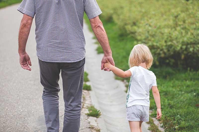 Partir en vacances avec ses petits-enfants