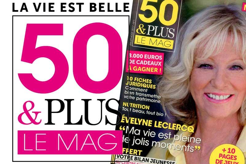 50 & Plus Le Mag : un nouveau magazine pour les seniors