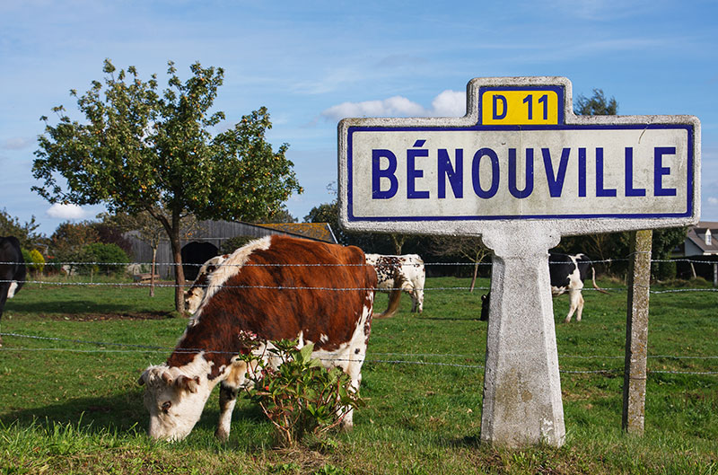 Bénouville en Normandie