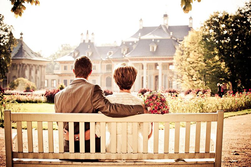 Mariage, fête, réception de famille