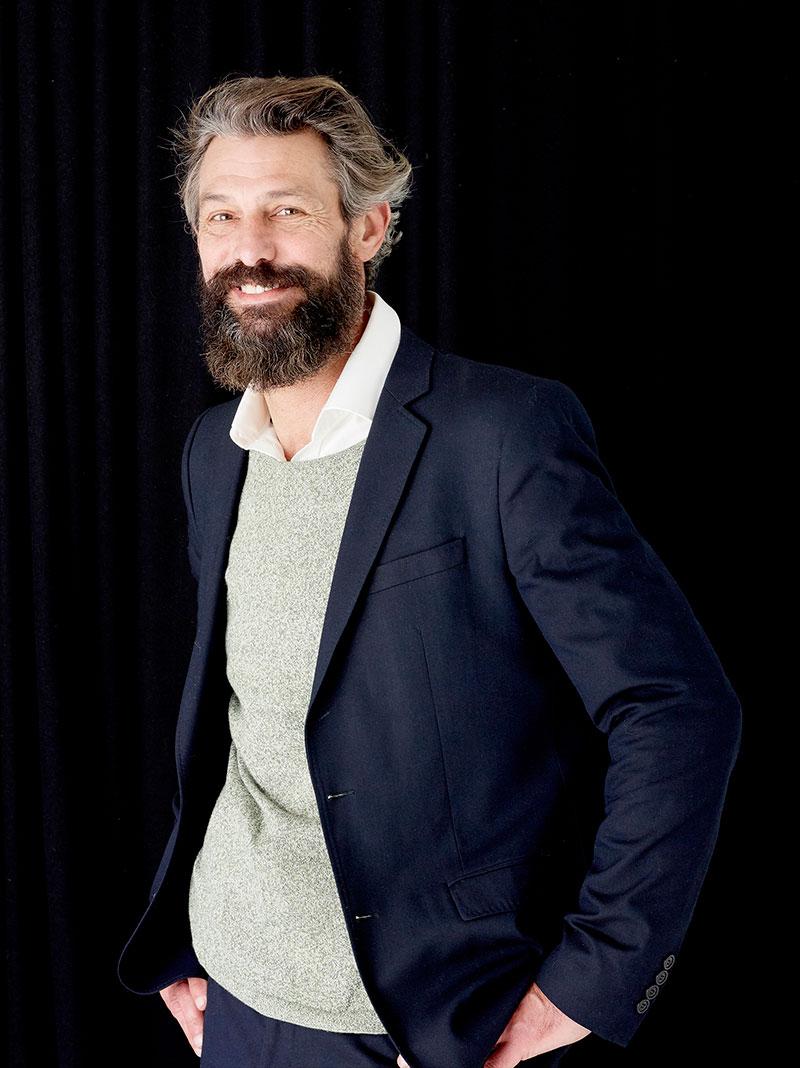 Jérôme, mannequin à 50 ans
