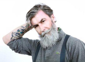 Philippe Dumas mannequin star à 60 ans