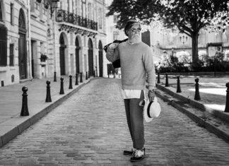 Philippe Dumas mannequin à 60 ans