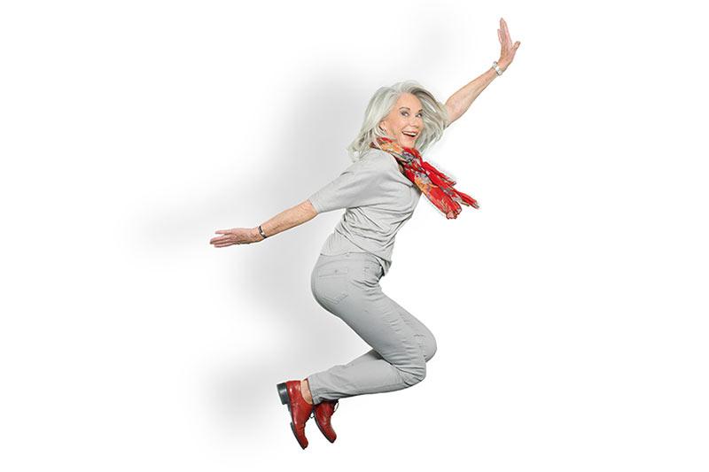 Nicole Jordi,, mannequin senior