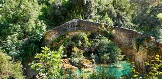 Les gorges de la Siagne et le pont des Tuves