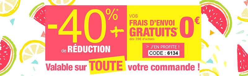 Promotions Bleu Bonheur