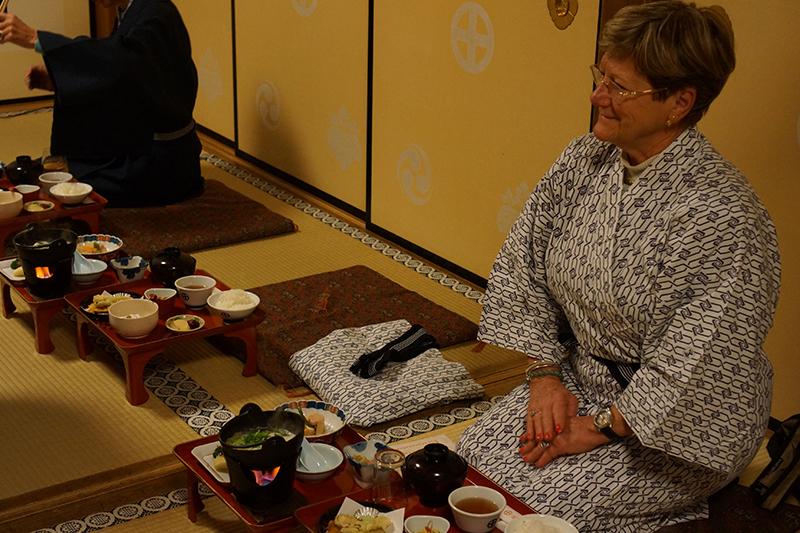Repas typiquement Japonais