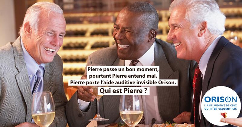 Aujourd'hui, sur nos 6 millions de presbyacousiques français, seulement 1 sur 4 est appareillé.